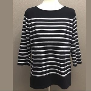 Women's Liz Claiborne Knit Top, Size Medium